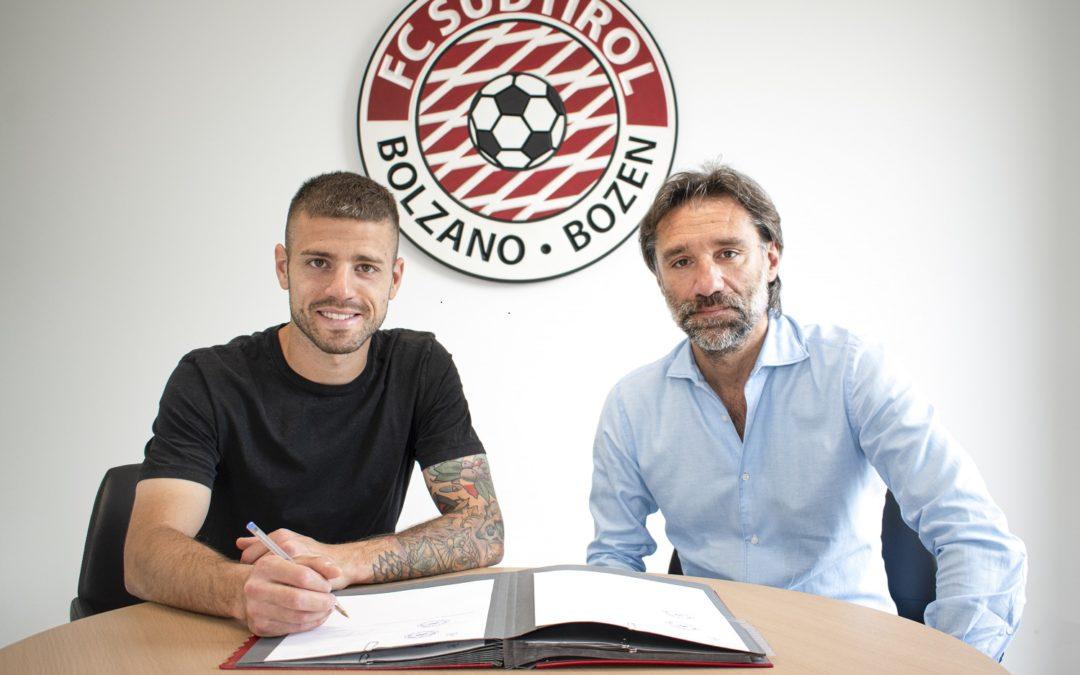 Casiraghi si lega all'FC Südtirol fino al 2024