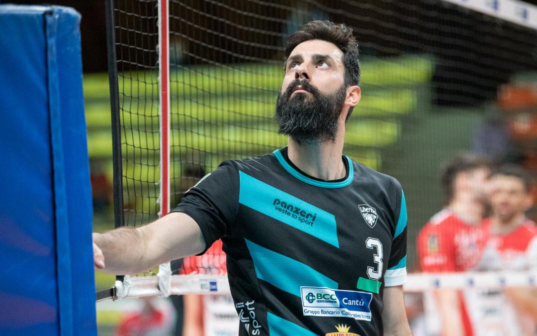 Volley A2M: Capitan Dario Monguzzi