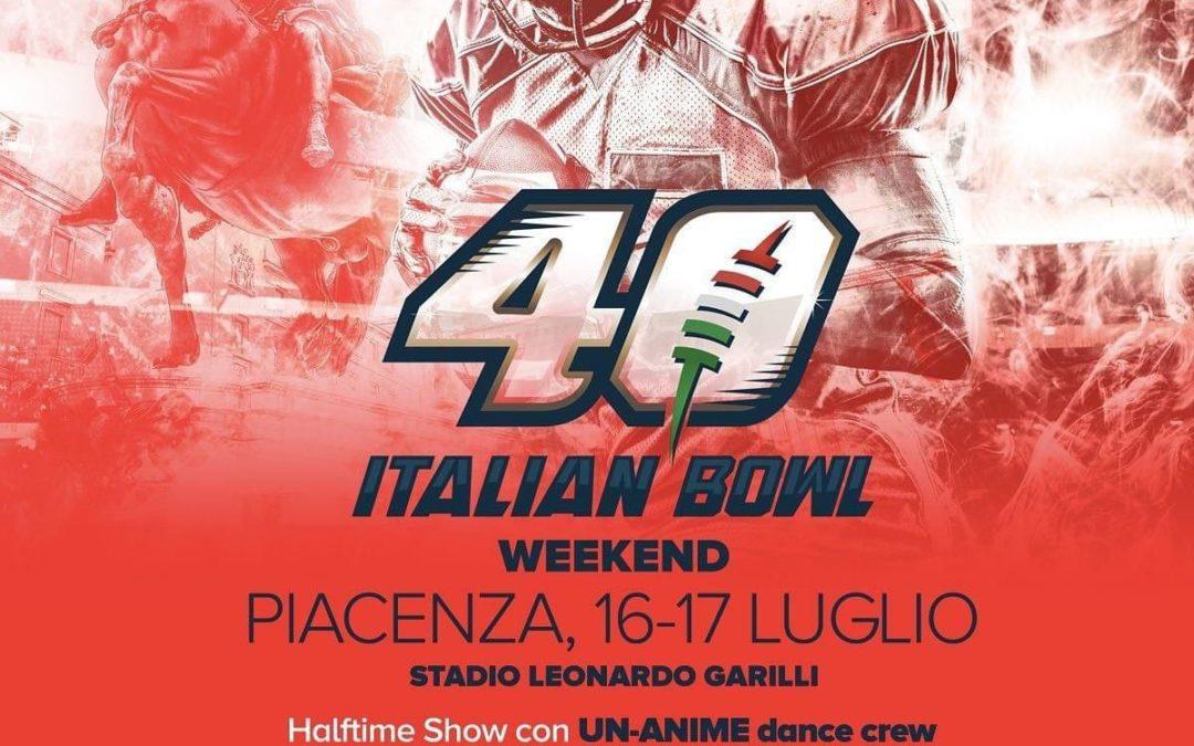 Amaro accesso al 40° Italian Bowl