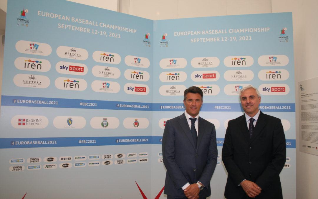 La multiutility Iren golden sponsor degli Europei di baseball in Piemonte
