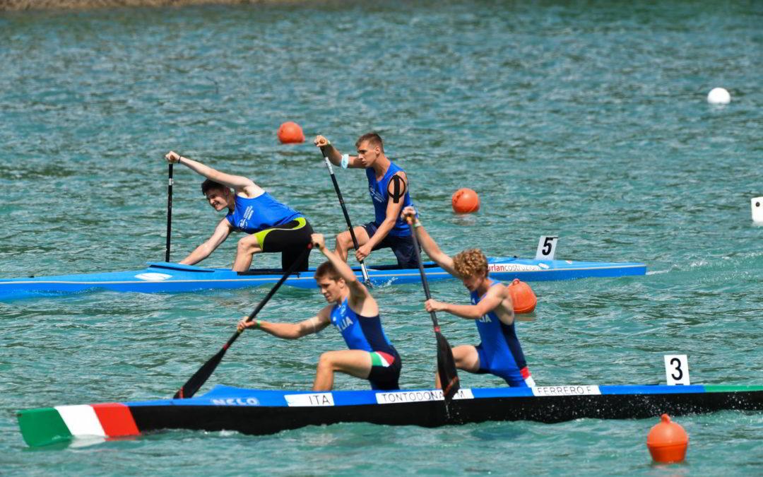 Gara Internazionale di Canoa di Auronzo