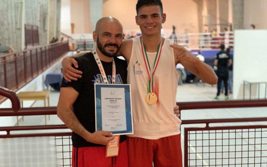 Francesco Paparo vince il campionato italiano U22