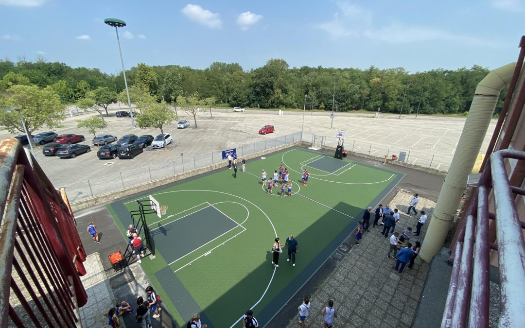 Inaugurato oggi il Playground Gabri