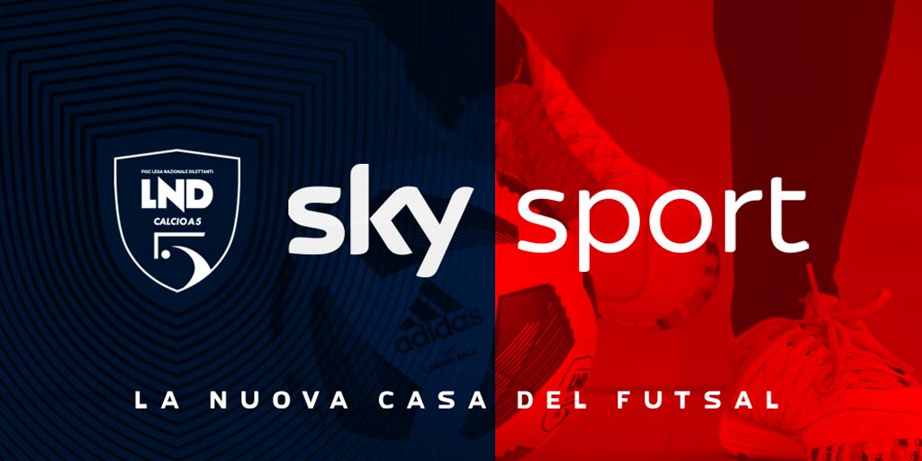 Sky sarà la casa della Serie A maschile e femminile di futsal