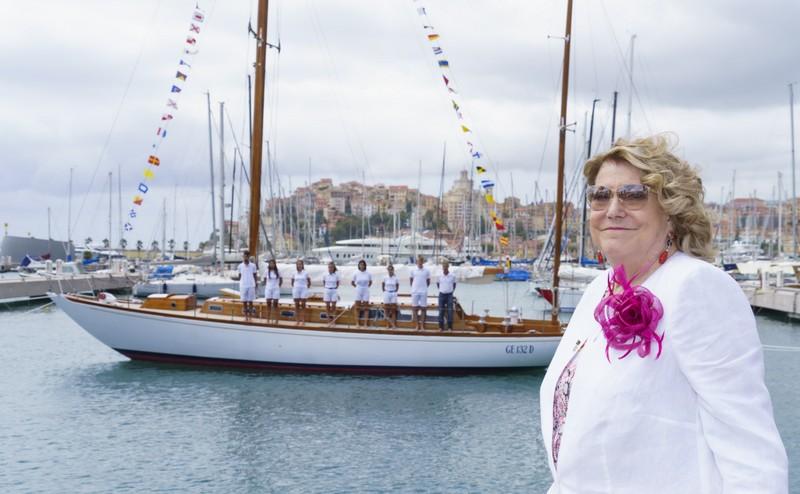 Beatrice diventa ambasciatrice della capitale italiana delle vele d'epoca