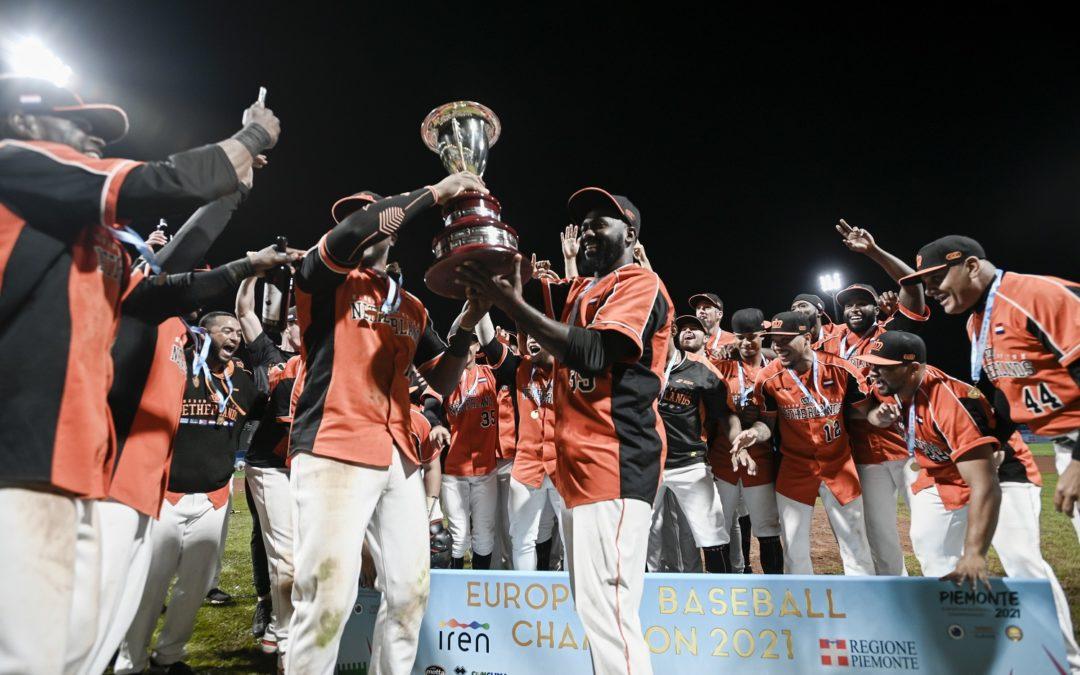 Campionato Europeo Baseball Piemonte 2021