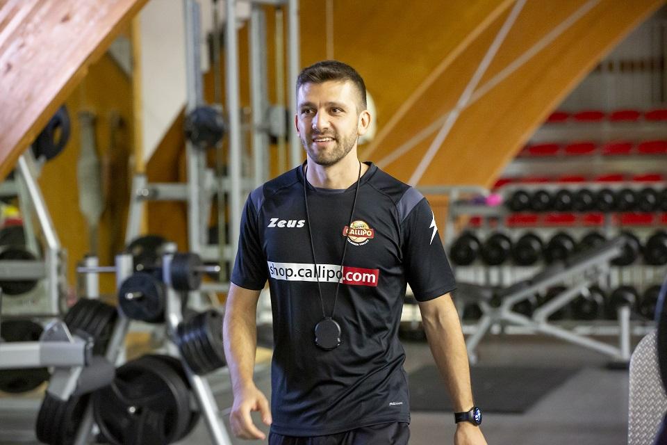 Alberto Castelli è il nuovo preparatore atletico giallorosso