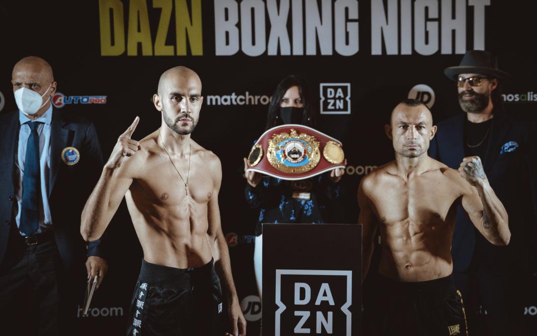 Milano Boxing Night: I pesi ufficiali