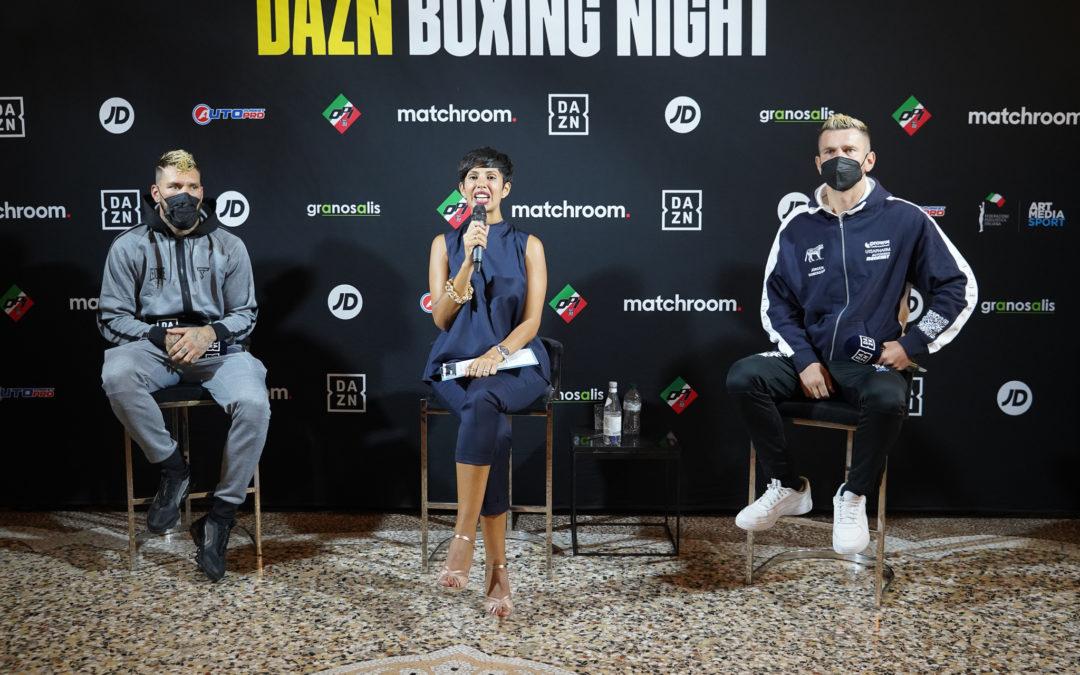 Conferenza stampa della Milano Boxing Night