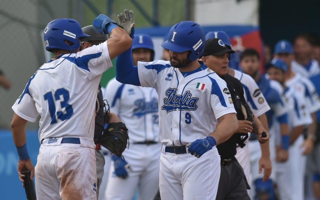 L'Italia vola in semifinale agli Europei di baseball