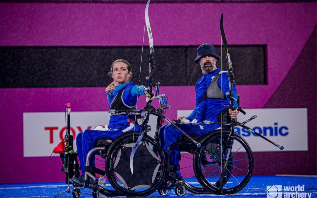 ARCO Giochi Paralimpici: MIJNO-TRAVISANI D'ARGENTO