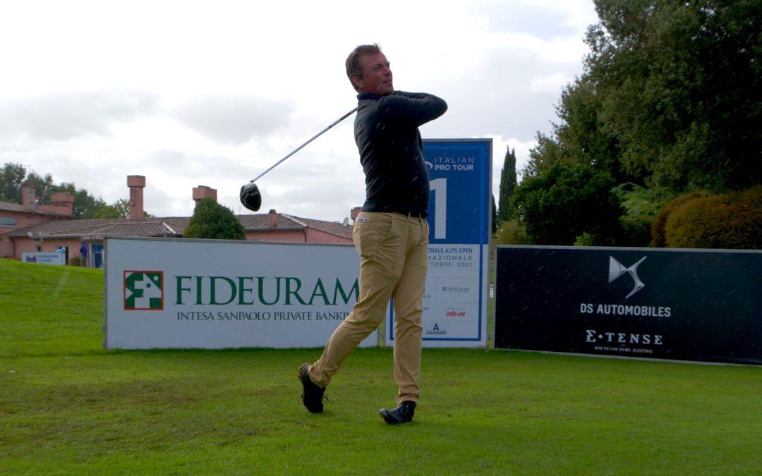 Golf Nazionale Alps Open: Maestroni in testa