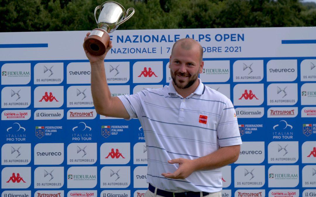 Golf Nazionale Alps Open: trionfo per Jacopo Vecchi Fossa